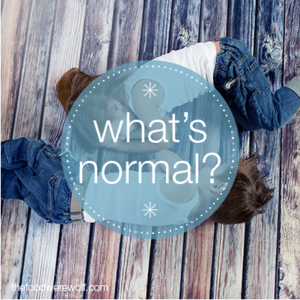 whats normal behaviour-