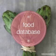food database