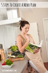 menu planning recipe reading