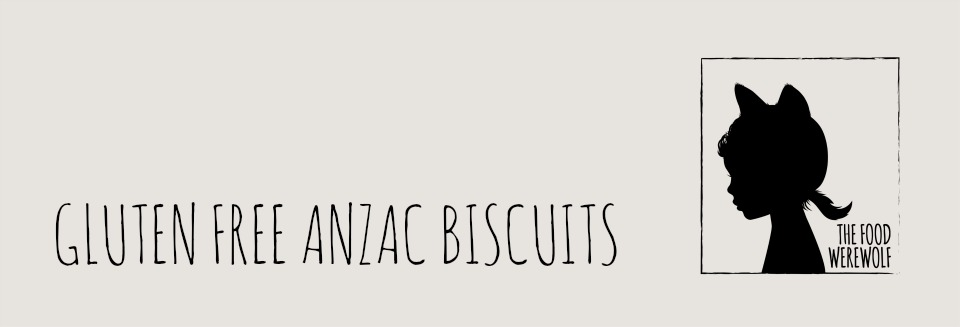 GF Anzac Biscuits Header
