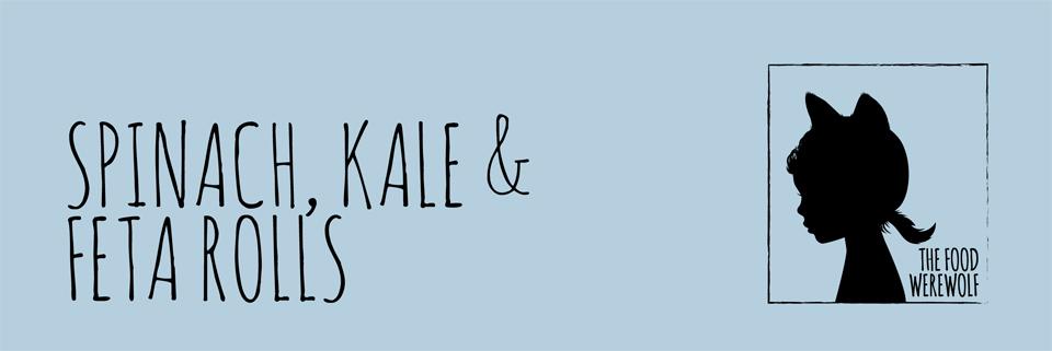 Spinach Kale & Feta Rolls