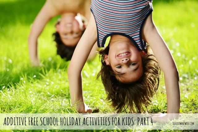 sch hols activities part 4