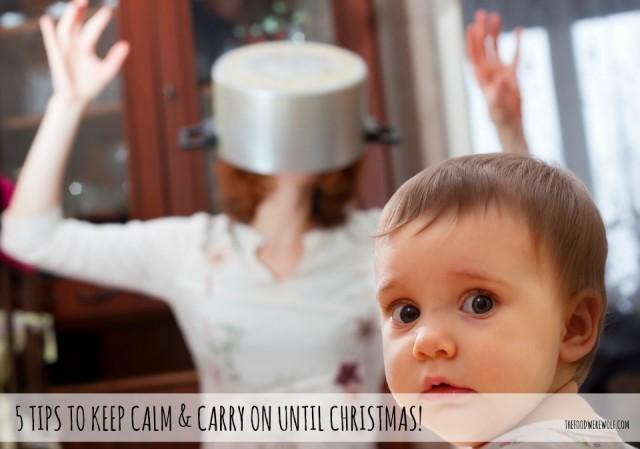5 tips to keep calm christmas