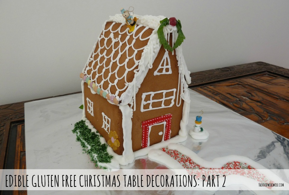 Edible Gluten Free Christmas Table Decorations Part 2