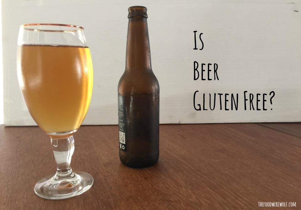is beer gf