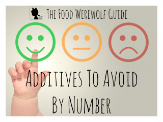 Additives To Avoid By Number Cover Pg