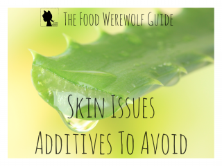 Additives To Avoid Skin Cover Pg