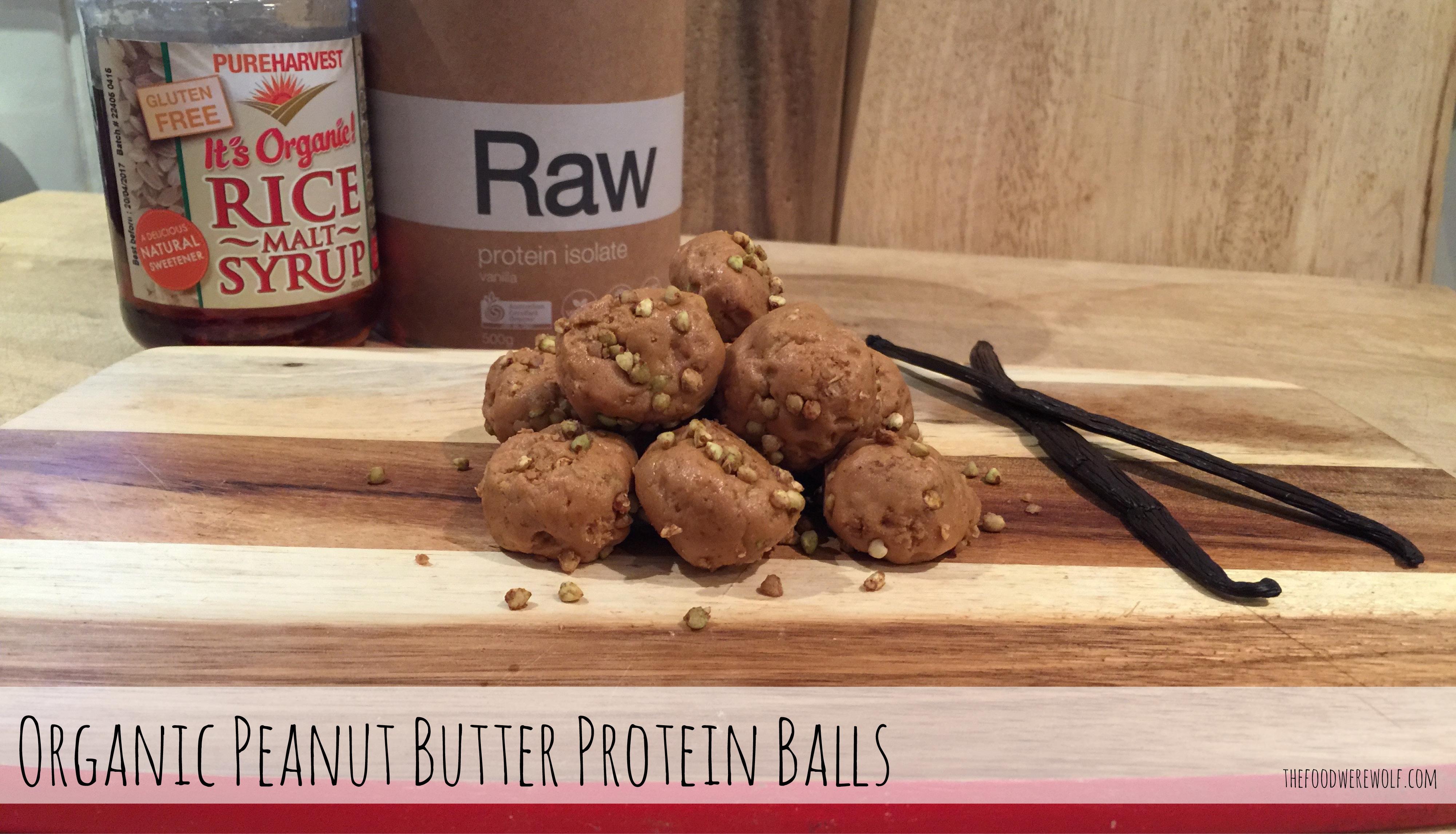 Peanut Protein Balls Blog Image